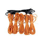 PVC三层碳纤维发热电线电缆
